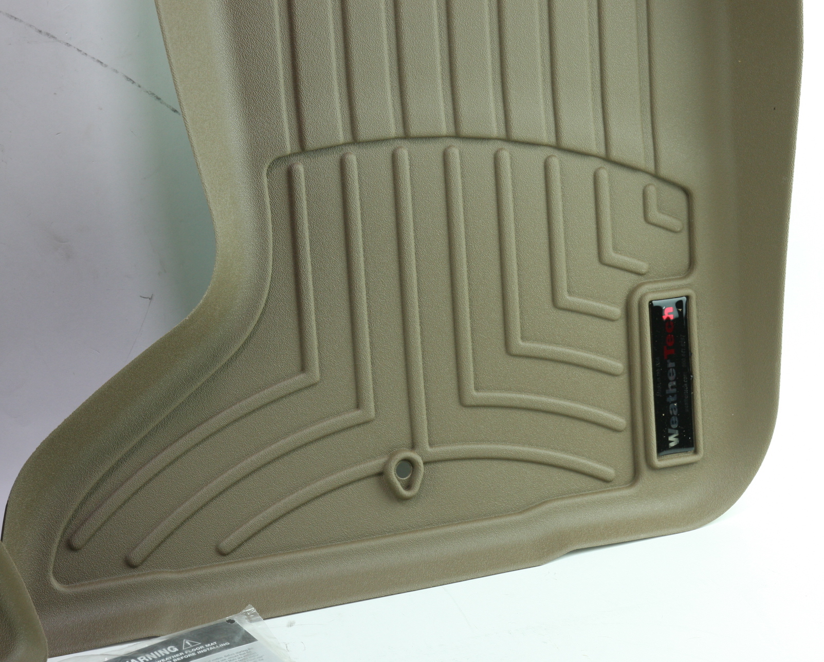 *** New WeatherTech 454251 Front Floor Liner for Challenger Charger 300 AWD Tan - image 9