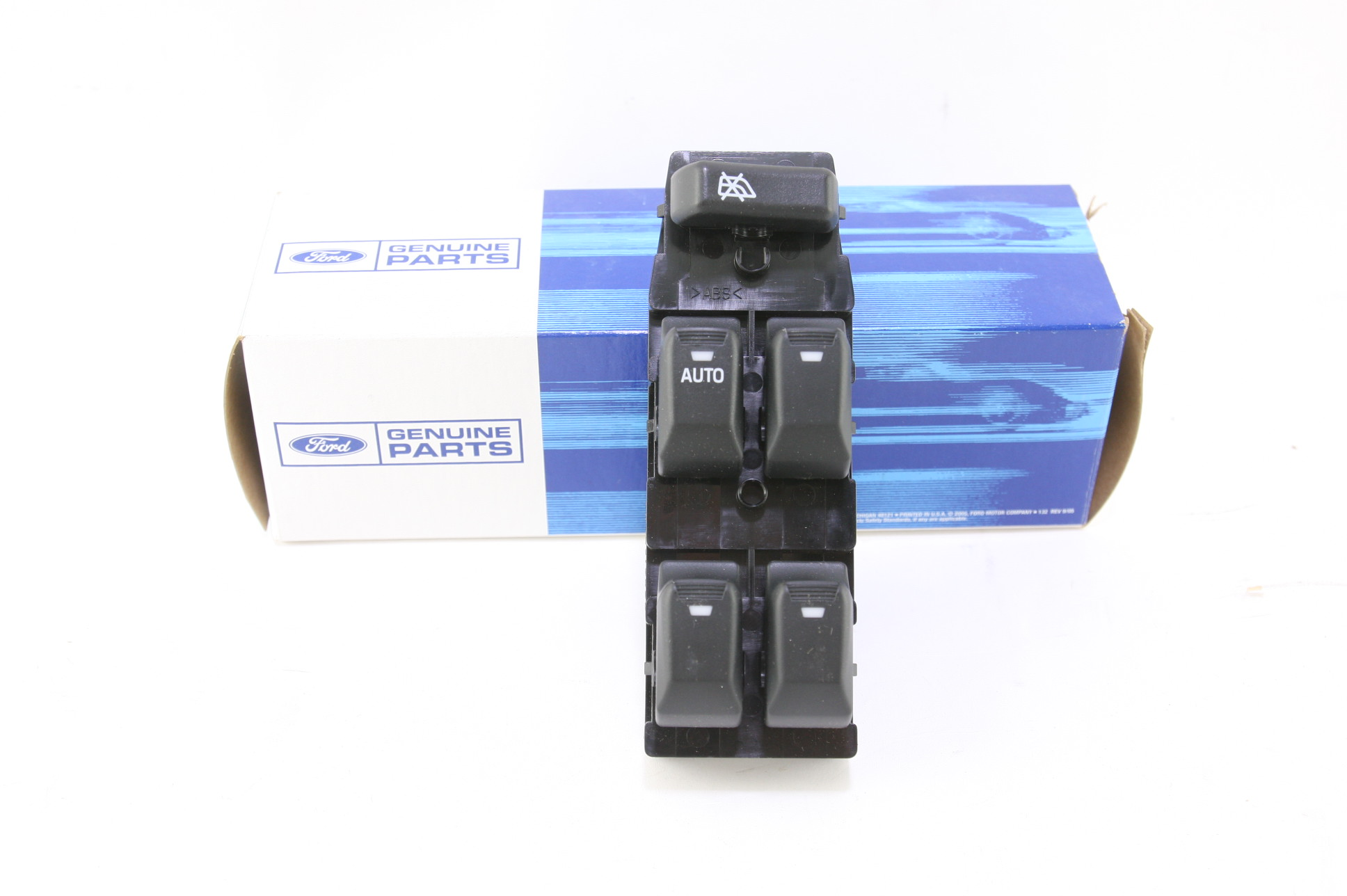 New OEM XW4Z14529AA 00-02 Lincoln LS Master LH Side Front Door Window Switch NIP - image 1